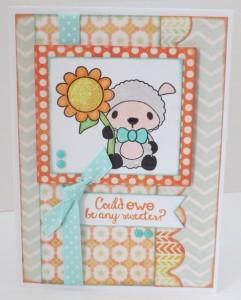 Cute Ewe card
