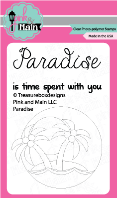 paradise june free stamp set pink and main