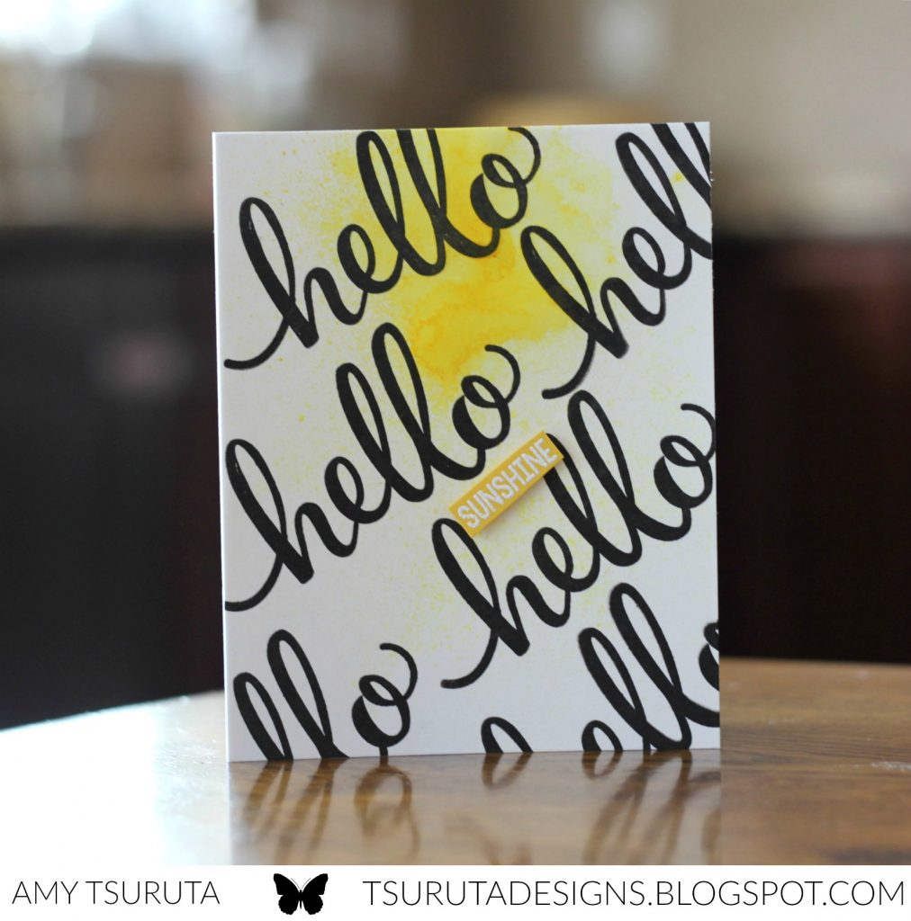 Hello Sunshine by Amy Tsuruta for Pink and Main