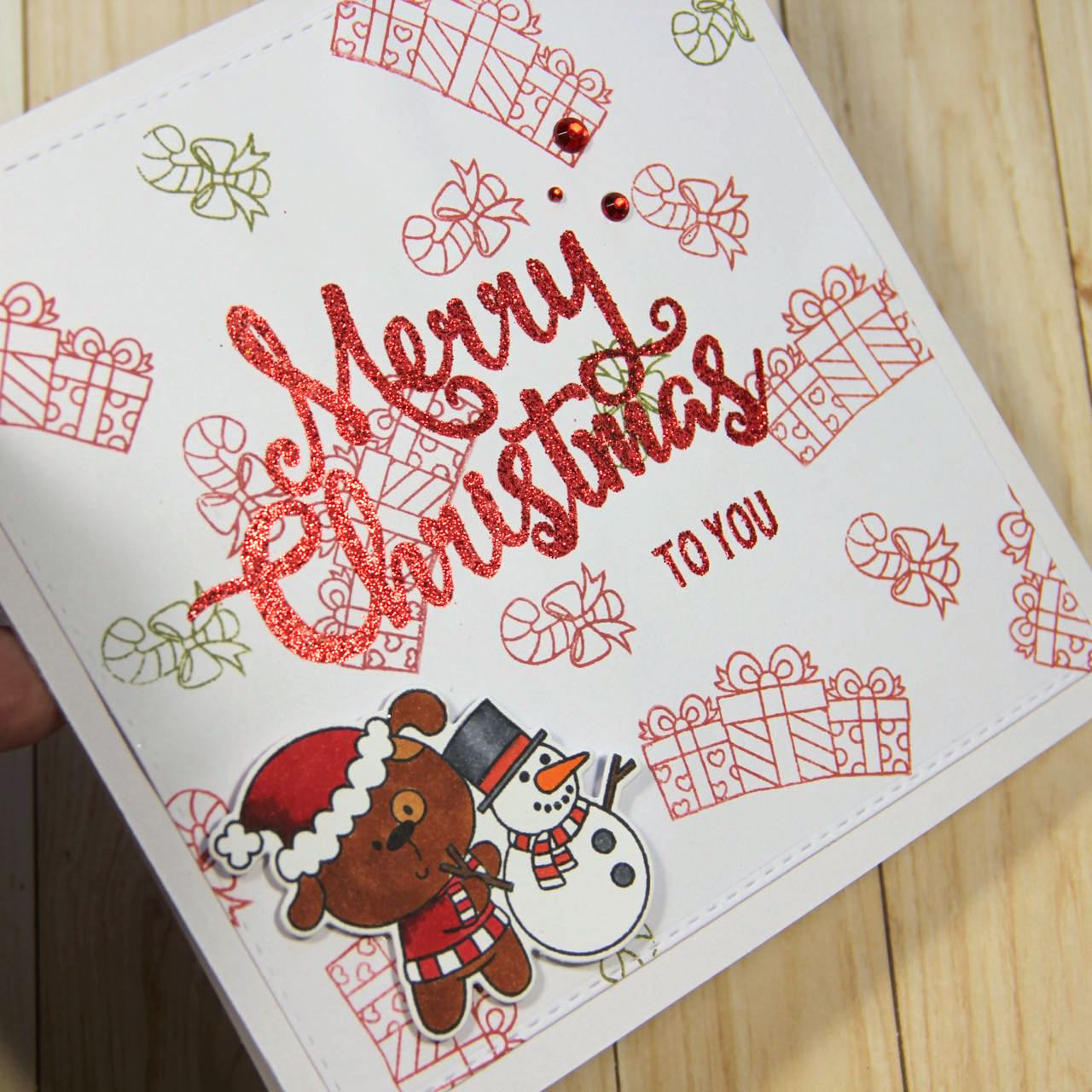 4 easy Christmas cards | Pink and Main Blog