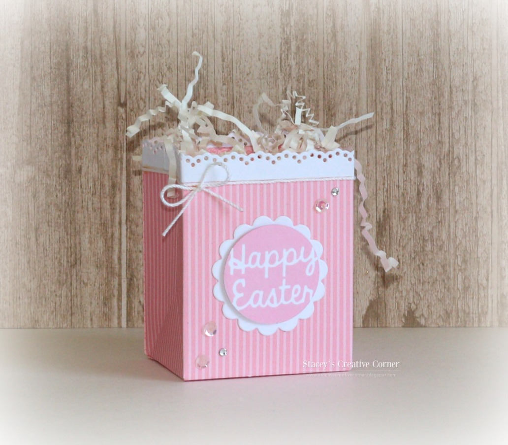 Happy Easter Bag | Pink and Main Blog