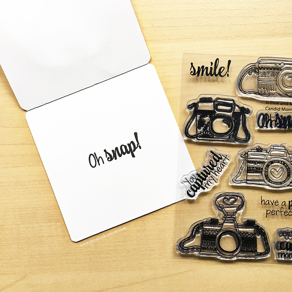 candid moments stamp set