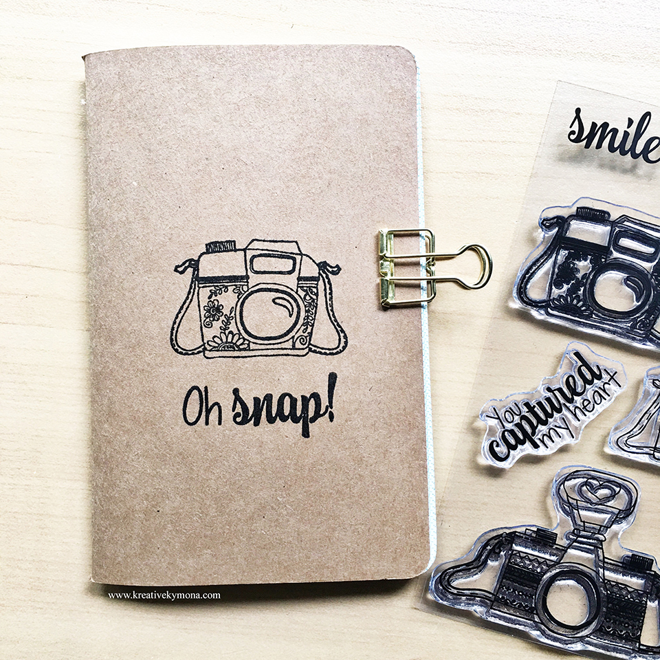 candid moments notebook